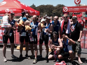 The TSC Heroes team after their 2014 triathlon