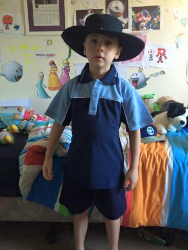 This is our son Ashton. He is 7 years old, diagnosed with TSC and epilepsy at 4 months. Ashton has just started Year 2 at a new school, ASPECT Northern Rivers NSW. Ashton is starting to learn how to interact socially with the wider community. We love him to bits xx