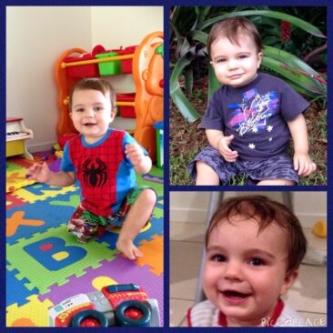 This is Koby. He was diagnosed at 8 weeks old with TSC. We celebrated Kobys first birthday in December. He loves playing with balls & listening to music. #IAMTSC