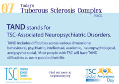 May 15th Is Global Awareness Day For Tuberous Sclerosis Complex