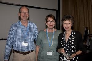 Ross Pinkerton, Sue Pinkerton, Anne Halbert