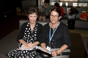Anne with Sue Williamson, one of TSA's volunteer regional contacts in Western Australia