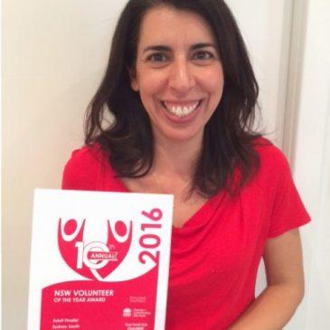 Debbie Crosby recognised as a finalist in Volunteer of the Year awards