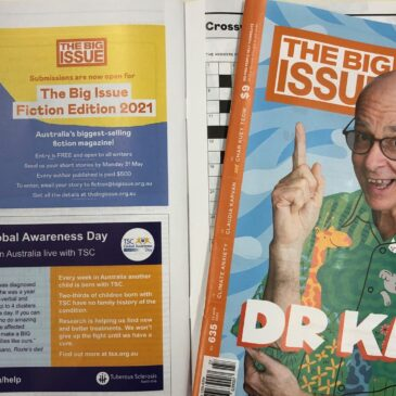 TSC features in The Big Issue